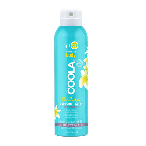 COOLA - Eco-Lux 8 oz Body SPF 30 Pina Colada Sunscreen Spray