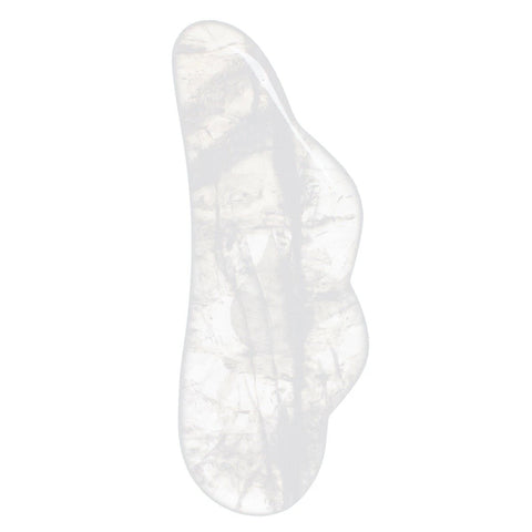 LIVING LIBATIONS - Quartz Crystal Gua Sha