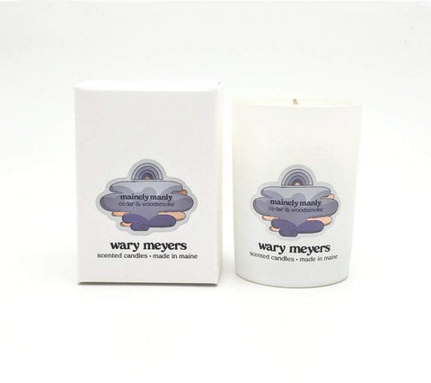 WARY MEYERS - Mainely Manly Candle