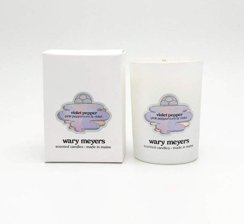 WARY MEYERS - Violet Pepper Candle