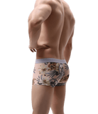 4 Pack Sheer Floral Trunks