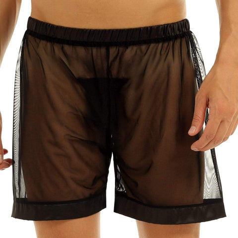 Silky Sheer Lounge Shorts