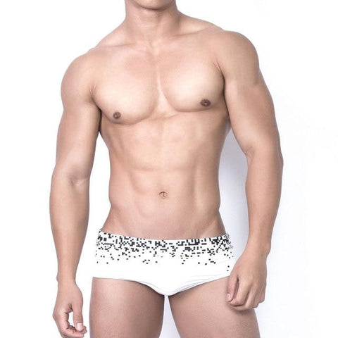 Pixel Square Swim Briefs
