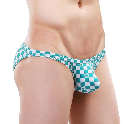 Checkered Bikini Briefs