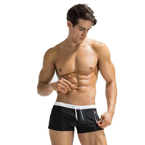 Side Pocket Summer Swim Shorts