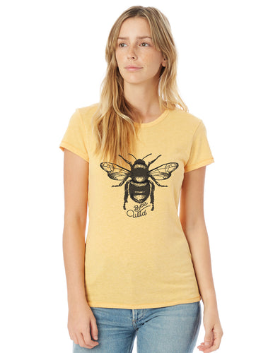 Bee Wild and Free Vintage Tee