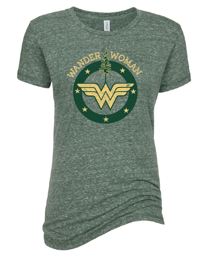 Wander Woman Crew Neck T-Shirt
