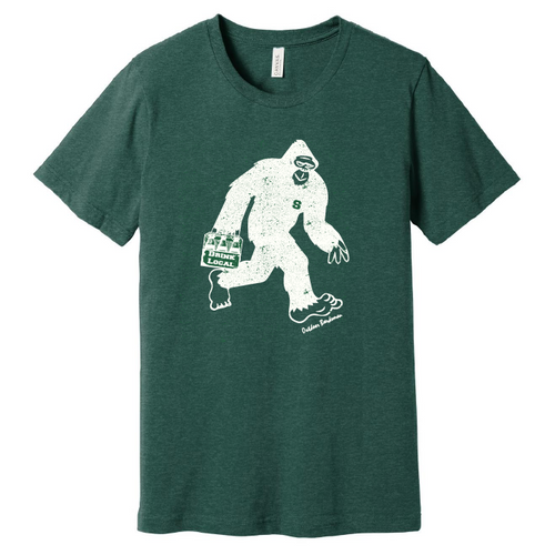 Sasquatch Go Green T Shirt