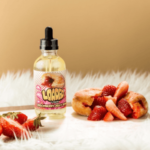 Loaded Strawberry Jelly Donuts