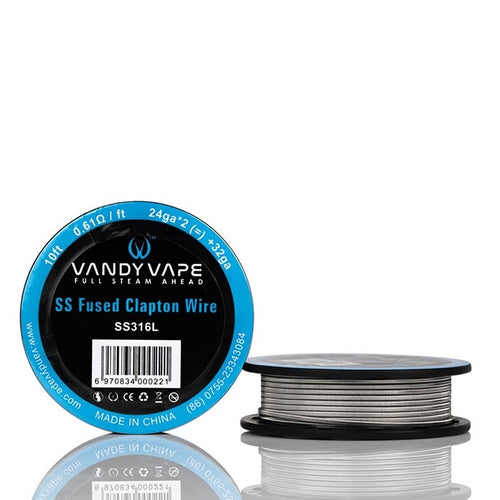 Vandy Vape SS Fused Clapton Wire Spool - 10ft Sydney Australia