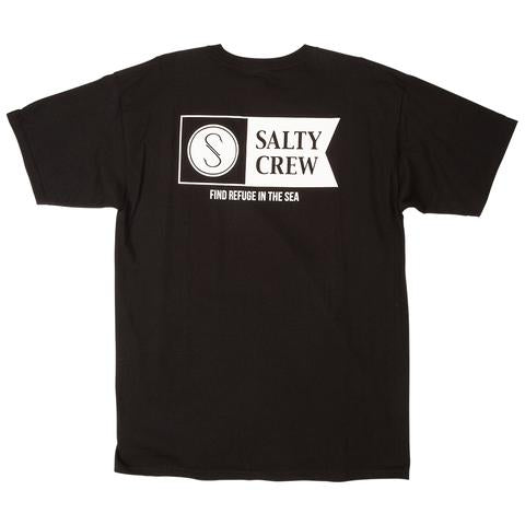 SALTY CREW Alpha Black T-Shirt