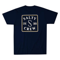 SALTY CREW Squared Up Navy T-Shirt
