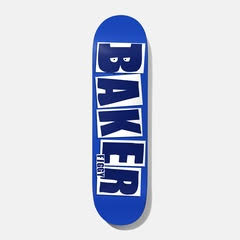 BAKER Figgy Brand Name Blue Deck 8.125