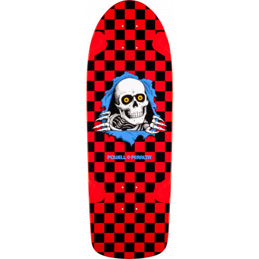 POWELL PERALTA OG Ripper Skateboard Deck Red Black 10.0