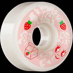 BONES SPF LIZZIE ARMANTO SPILT MILK  P6 WIDE-CUTS Wheels 54mm 81B
