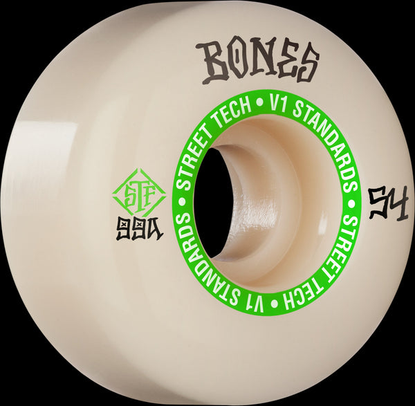BONES STF Easy Streets v1 Wheels 54mm 99a