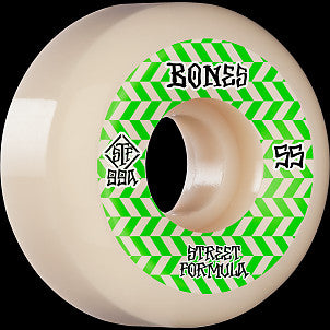 BONES STF Patterns v5 Sidecut Wheels 55mm 99A