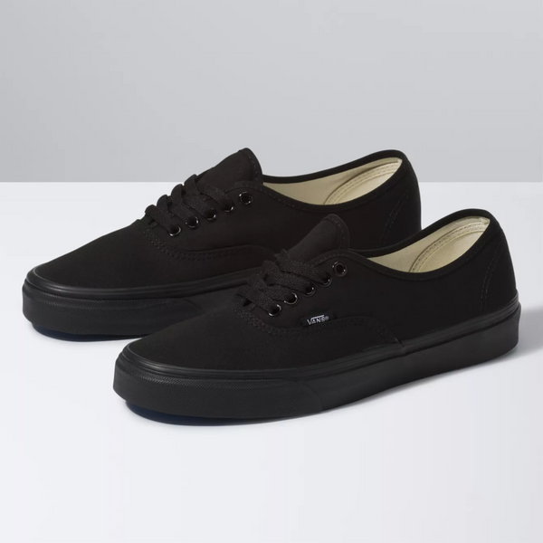 VANS Authentic Black Black Shoes