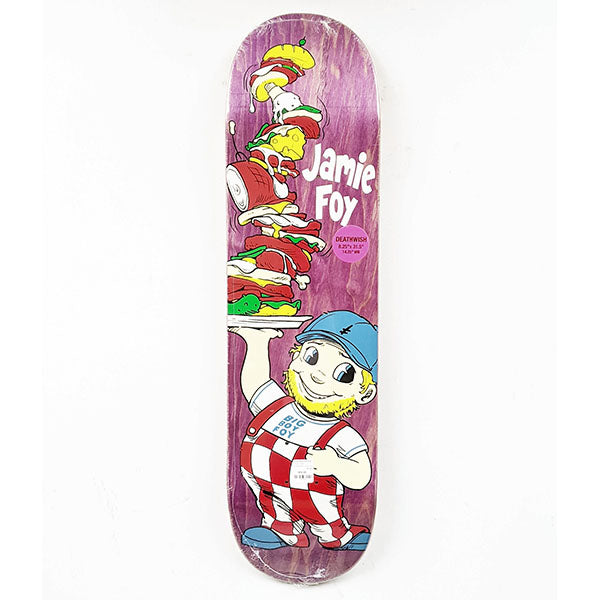 DEATHWISH Big Boy Foy Purple Deck 8.25