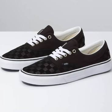 VANS Era Deboss Black Shoes