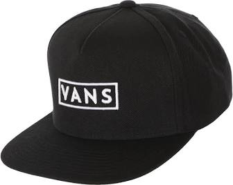 VANS Easy Box Black Snapback Hat