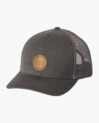 RVCA Volume Mesh Steel Heather Hat