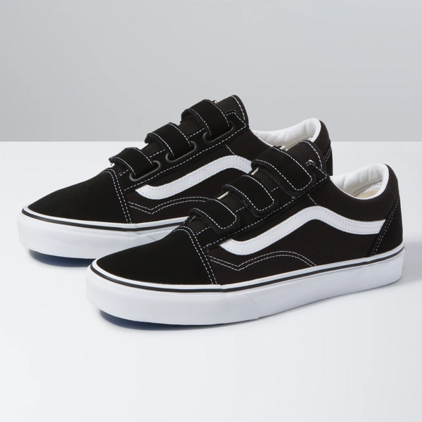 VANS Old Skool Velcro Black Shoes