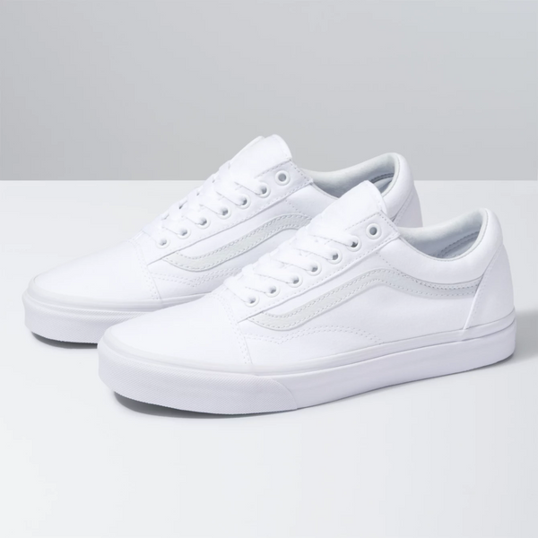 VANS Old Skool True White Shoes