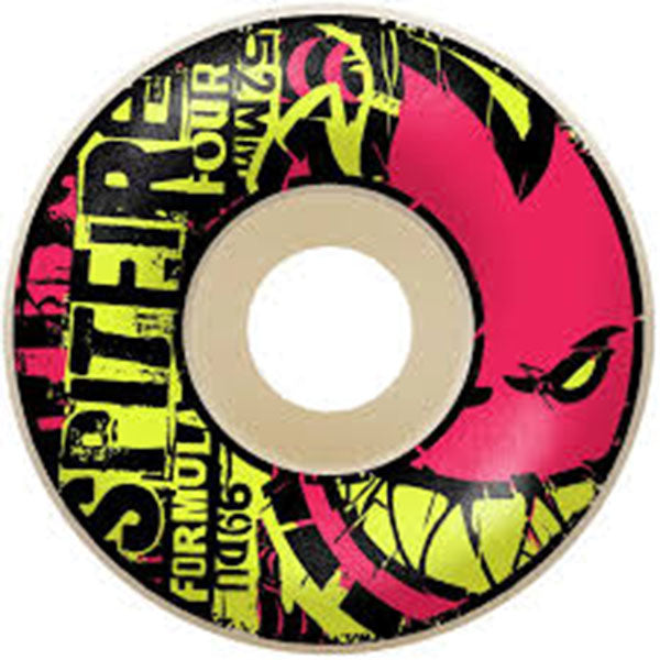 SPITFIRE Formula Four Ransom Radials Wheels 52mm 99a