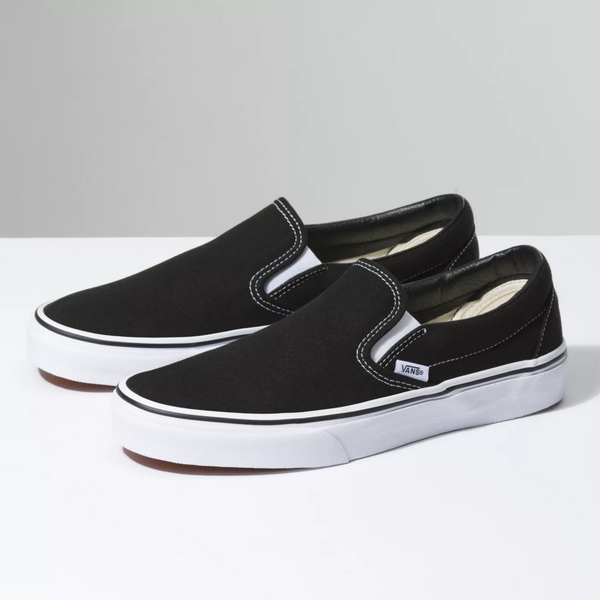 VANS Slip-On Black Shoes