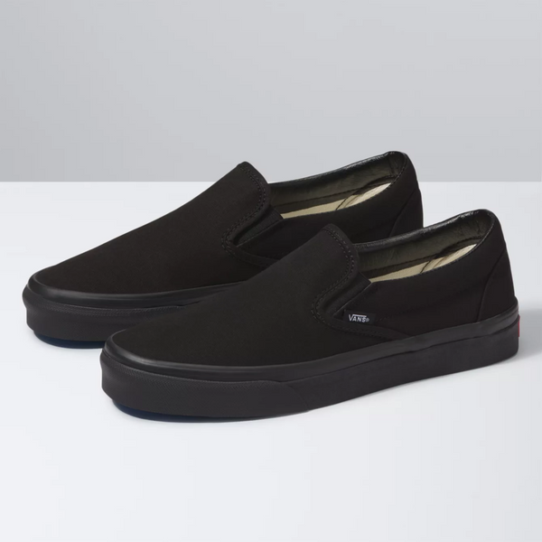 VANS Slip-On Black Black Shoes