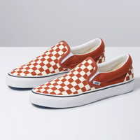 VANS Slip-On Checkerboard Picante White Shoes