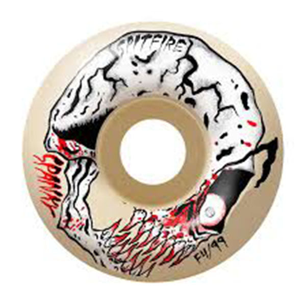 SPITFIRE Formula four Spanky Neckface Wheels 54mm 99a