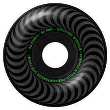 SPITFIRE Formula Four Blackout 52mm 99a Wheels
