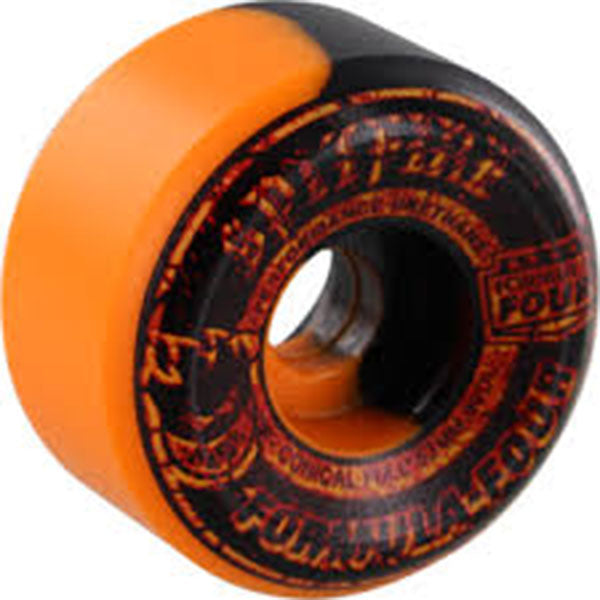SPITFIRE Formula Four Embers Swirl Conical Wheels 53mm 99a