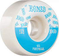 Bones 100s Wheels 53mm 100a