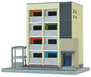 Tomytec Stracure 160-2 Contemporary Apartment Building 2 N Scale