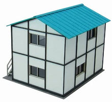 Sankei MP03-72 Prefab Hut N Scale 1/150 Paper Craft