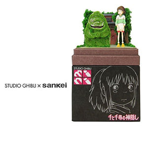 Sankei MP07-71 Studio Ghibli Spirited Away Chihiro and Sekizin Paper Craft