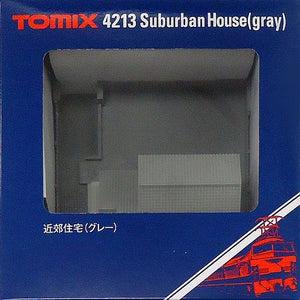 Tomix 4213 Suburban House Gray N Scale