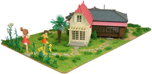 Sankei MK07-41 Ghibli The House of Satsuki and Mei Papercraft