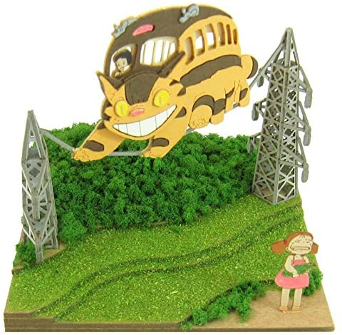 Sankei MP07-04 Studio Ghibli May and Neko Bus My Neighbor Totoro Paper Craft