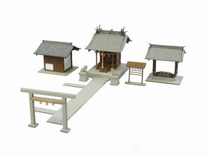 Sankei MP03-38 Miniatuart Japan Small Shrine Paper Craft