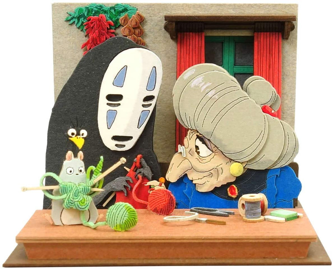 Sankei MP07-120 Pleshette Knitting Together Spirited Away Papercraft