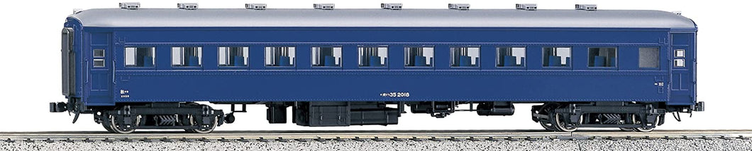 Kato 1-511 OHA 35 Passenger Car, Blue  HO Scale