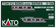 Kato 10-1258 Tokyu 5050-4000 2-Car Add-On Set B N Scale