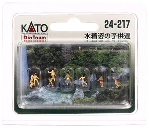Kato 24-217 Model People Children Swimming N Scale