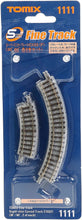 Tomix 1111 Super Mini Curve Rail C103 (F) (30 ° 60 ° 2 pcs set each) N Scale