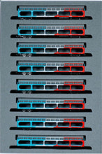 Kato 10-1603 Freight Car KU5000 with Tricolor 8-Car Set   N Scale