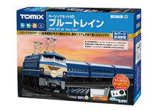Tomix 90179 Basic Set SD Blue Train  N Scale